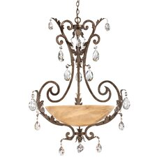 <strong>Fredrick Ramond</strong> Barcelona 3 Light Inverted Pendant