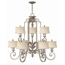<strong>Fredrick Ramond</strong> Kingsley 9 Light Chandelier