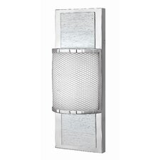 Mira 1 Light Wall Sconce with Mesh Textured Shade