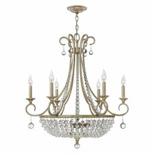 <strong>Fredrick Ramond</strong> Caspia 9 Light Chandelier