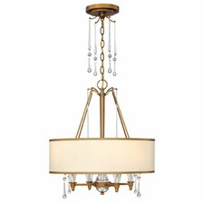 <strong>Fredrick Ramond</strong> Bentley 4 Light Chandelier
