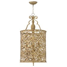 <strong>Fredrick Ramond</strong> Carabel 6 Light Foyer Pendant