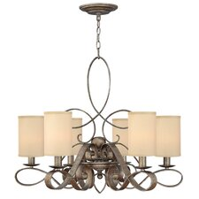 <strong>Fredrick Ramond</strong> Monterey 6 Light Chandelier
