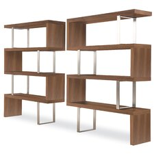 "<strong>Modloft</strong> Pearl 66"" Bookcase"