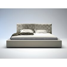 Madison Platform Bed in Dusty Grey