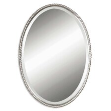Sherise Oval Metal Mirror