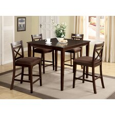 <strong>Hokku Designs</strong> Easton 5 Piece Counter Height Dining Set