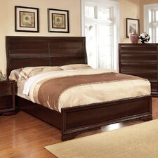 Corenzia Curved Panel Platform Bed