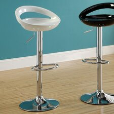 Carson Adjustable Height Bar Stool (Set of 2)
