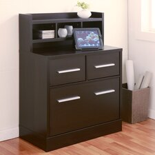3-Drawer File Cabinet Workstation