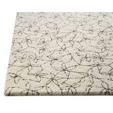 <strong>Hokku Designs</strong> Pargo White/Grey Rug