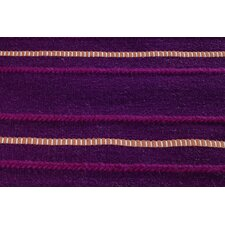 Savannah Purple Striped Rug