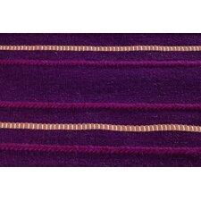 Savannah Striped Purple Area Rug