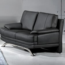 Phoenix Leather Loveseat