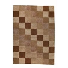 <strong>Hokku Designs</strong> Check Brown Rug