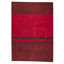 <strong>Hokku Designs</strong> Flow Red Rug