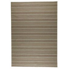 Savannah Beige Striped Rug