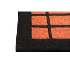 New York Rust/Charcoal Area Rug