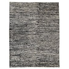 <strong>Hokku Designs</strong> Husk White/Black Rug