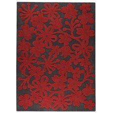 <strong>Hokku Designs</strong> Marigold Dark Grey Rug