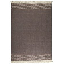 Tablas Kilim Brown Rug