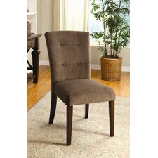 Zoie Velvet Parsons Chair (Set of 2)