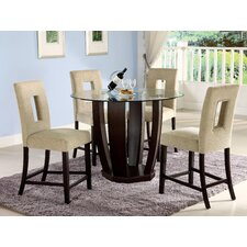 <strong>Hokku Designs</strong> Catina 5 Piece Counter Height Dining Set
