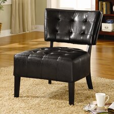 Madrid Leatherette Slipper Chair