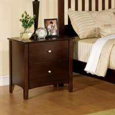 Simpleton 2 Drawer Nightstand