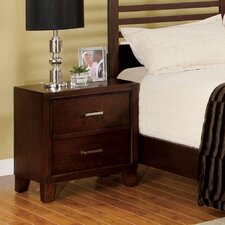 <strong>Hokku Designs</strong> Elery 2 Drawer Nightstand