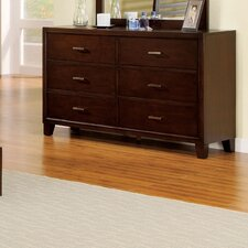 Elery 6 Drawer Dresser