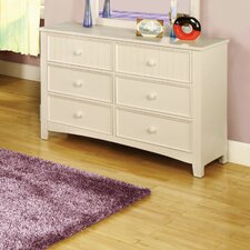Alyssa 6-Drawer Dresser