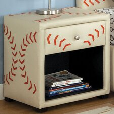 Sports 1 Drawer Nightstand