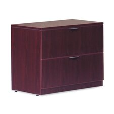 Two Drawer Lateral File with Lock