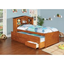 <strong>Hokku Designs</strong> Princeston Platform Captain Twin Bed with Trundle