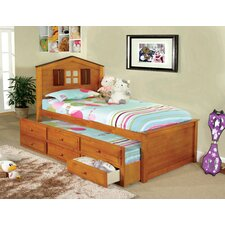 <strong>Hokku Designs</strong> Cottage Captain Twin Bed with Trundle