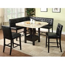 <strong>Hokku Designs</strong> Milly 6 Piece Counter Height Dining Set