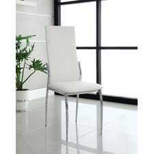 Chandler Side Chair in White