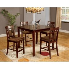<strong>Hokku Designs</strong> Wilton 5 Piece Counter Height Dining Set