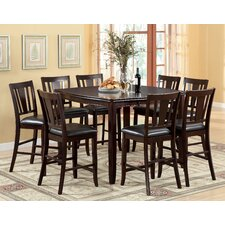 Nappa 9 Piece Counter Height Dining Set