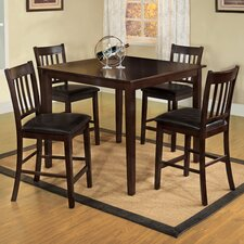 <strong>Hokku Designs</strong> Clarks 5 Piece Counter Height Dining Set