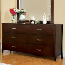 <strong>Hokku Designs</strong> Brookville 6 Drawer Dresser