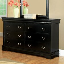 Preston 6 Drawer Dresser
