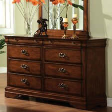 <strong>Hokku Designs</strong> Wilshire 6 Drawer Dresser