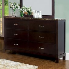 <strong>Hokku Designs</strong> Willow 6 Drawer Dresser