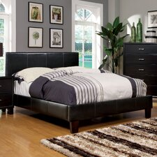 Villa Upholstered Platform Bed