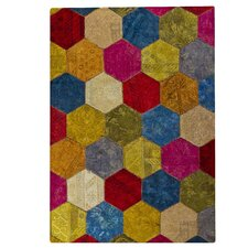 Honey Comb Siena Multi  Rug
