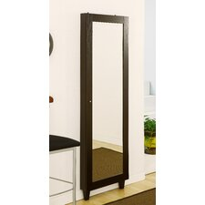 Claire Wall Mounted Jewelry Armoire with Mirror