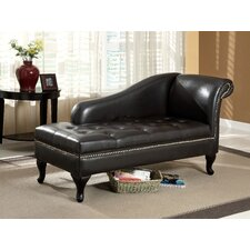 <strong>Hokku Designs</strong> Emma Leatherette Chaise Lounge