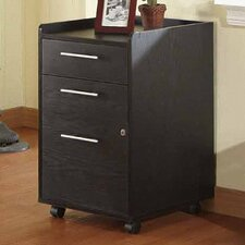 Belmont 2 Drawer Rolling File Cabinet